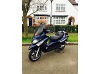 2008 PIAGGIO XEVO 125cc NEW MOT GOOD WORKING £950 ONLY