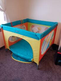 Baby cot travel 100x100, perfect condition