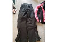 Frank Thomas Motorcycle/Moped Jacket & Trousers Ladies Size 12