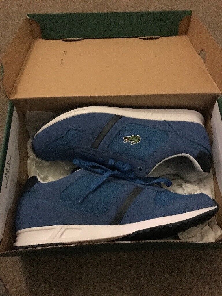 Brand new Lacoste men's trainers