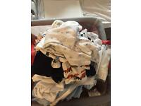 Baby boy bundle of clothes
