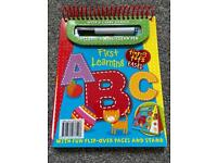 New tiny tots ABC wipe clean book with pen