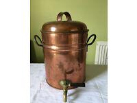 Antique Copper Tea Urn