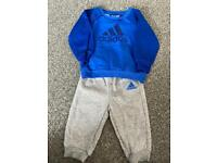 Adidas tracksuit 3/6 months