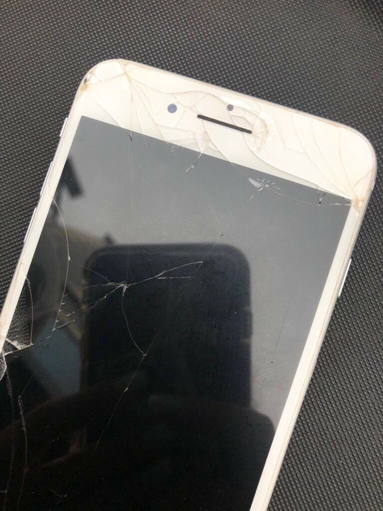 newest collection 5ed61 91238 Iphone 8 plus - cracked screen | in Kilrea, County Londonderry | Gumtree