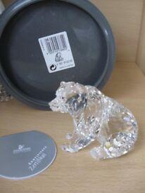 Swarovski Grizzly Bear - Signed