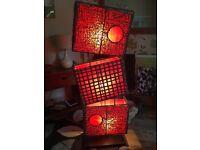 Indonesian floor lamp