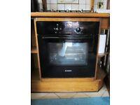 Bosch Black Single Fan Oven, HBN331SOB