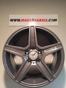 Mags + PNEUS PIRELLI SCORPION WINTER 17 pouces MERCEDES GLK