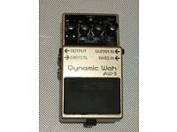 Boss Dynamic Wah AW-3 Guitar or Bass effects pedal