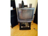 FREE retro TV and freeview box