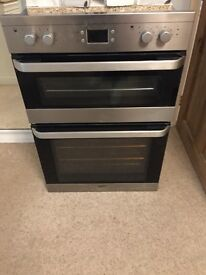 Double electric oven and grill