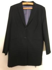 Ladies long suit jacket