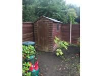 Garden shed £60