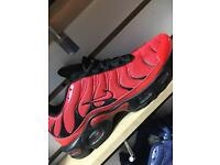 Mens Nike air max TNs red/blk (6-11)