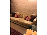 Fabric grand 4 seater Sofa
