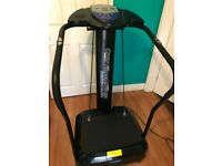 Crazy Fitness Massage Vibration Plate Trainer