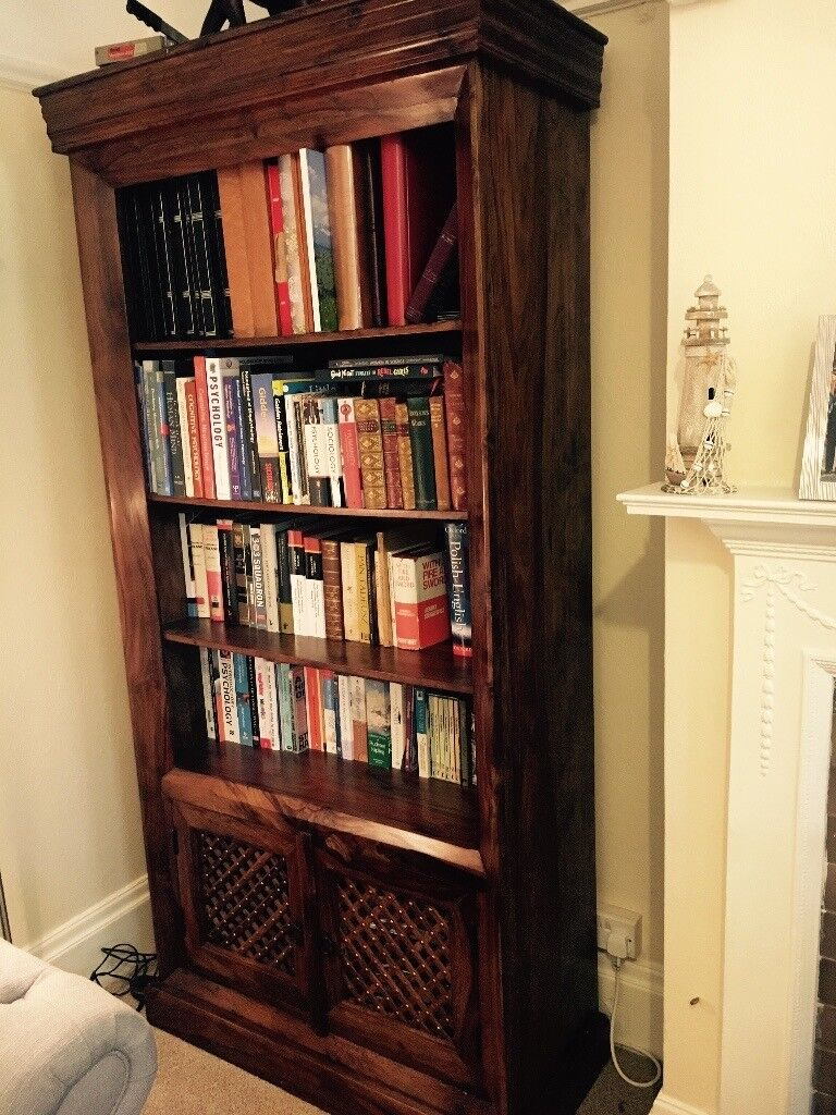 John Lewis Maharani Bookcase Bookshelf Solid Wood