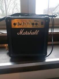 Marshall MG10CD small amplifier with Venom leads