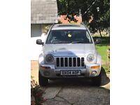 2004 Jeep Cherokee CRD 12 Months MOT