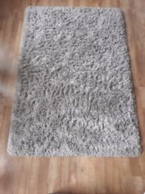 Large grey high pile rug from IKEA, great condition.
