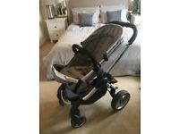 I Candy Peach Double buggy and accessories