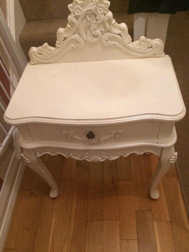 Telephone table French style shabby chic