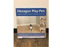 Hexagon Play Pen for pets