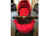 Graco pram set from mamas and papas includes carrycot & hood,
