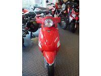 Beeline Memory 50cc Vespa styling twist & go Moped