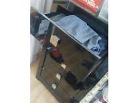 drawers black gloss