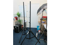 Set of 2 Penn DJ Speaker Stands in Excellent Condition
