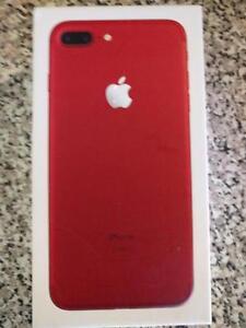 Unlocked Red Iphone 7 Plus 128 GB