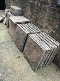 Garden patio slabs, 3 sizes available