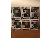 Funko Pop Vinyl - Pack of 6 - Mint in Box