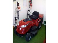 Ride on lawnmower lawn mower mountfield
