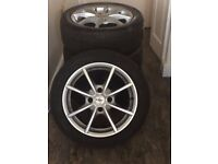 TSW Alloy wheels to fit Ford Fiesta.