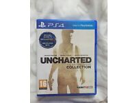 Uncharted - The Nathan Drake collection and Uncharted 4 - PS4