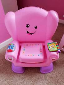 Fisher price musical chair.