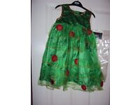 Christmas Tree tutu dress 1-8 years old BNWT