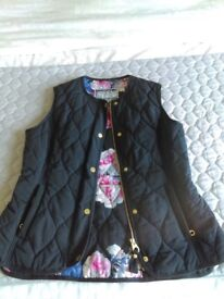 Joules gilet, brand new and never worn. Size 12.