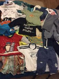 Baby boy clothes bundle 9-12 months