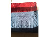Children's Marks & Spencer bed throw Red and Blue star theme