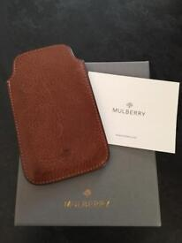 Original Mulberry Tan Leather IPhone5 cover