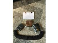 New Leather bumper bar or handle bar covers