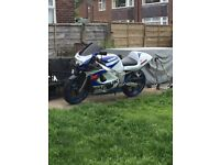 Gsxr 600 srad, the bike is in grate condition, starts and rides as it should