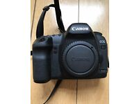 Canon 5D mark II full frame body 20Mpx - immaculate condition