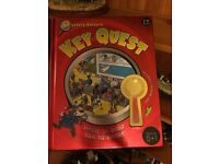 Key quest- mystery solver book for children aged 5-10
