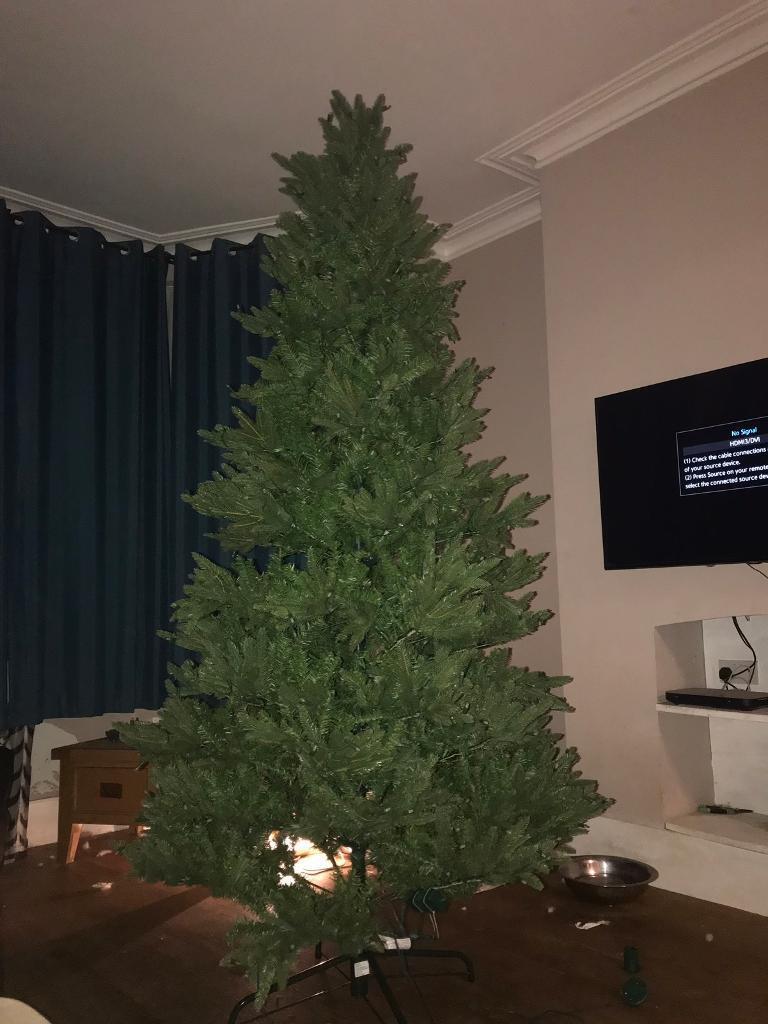 artificial santas best christmas tree 8ft
