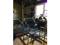 Old School High Low Pulley System - weights gym